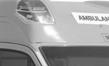 Ambulance Light Pod B&W
